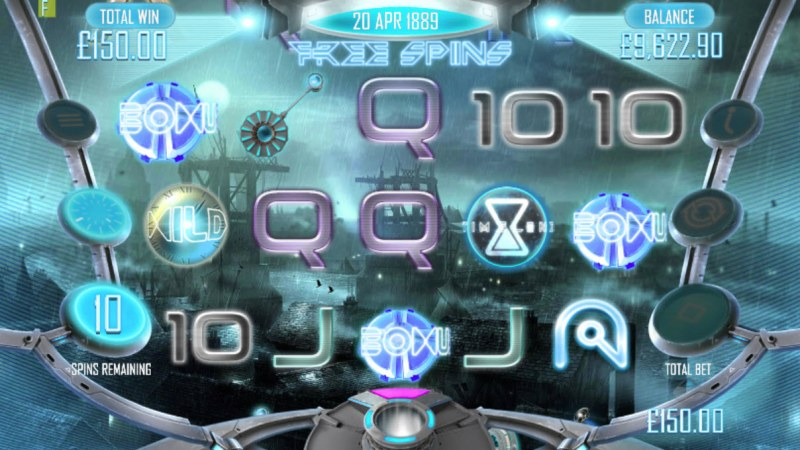 Timelines :: Scatter symbols triggers the free spins feature