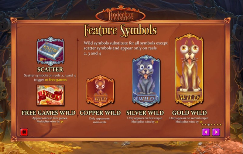 Tinderbox Treasures :: Wild Symbol Rules