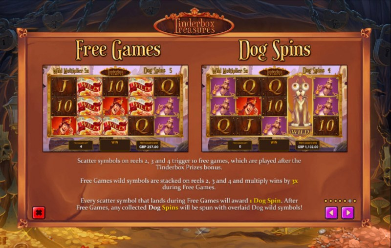 Tinderbox Treasures :: Feature Rules
