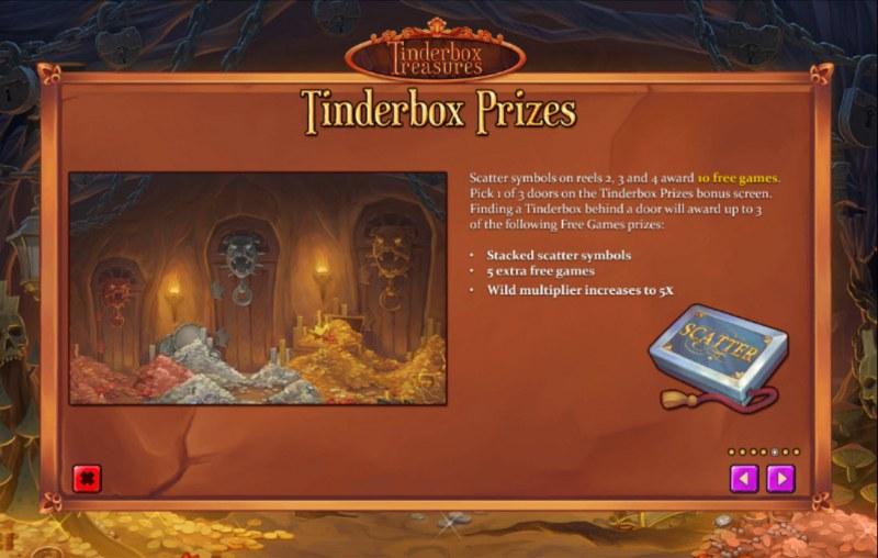 Tinderbox Treasures :: Tinderbox Prizes
