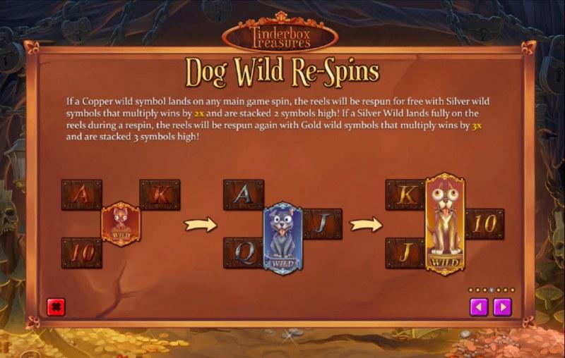 Tinderbox Treasures :: Dog Wild Re-Spins