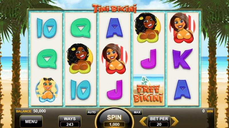 Tini Bikini :: Main Game Board