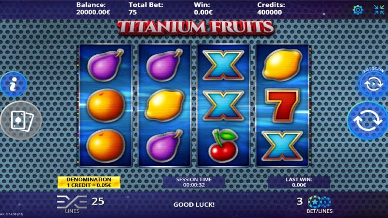 Titanium Fruits :: Main Game Board