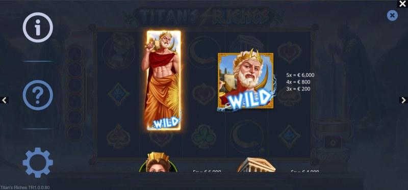 Titan's Riches :: Wild Symbol Rules