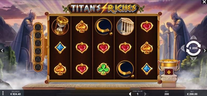 Titan's Riches :: Main Game Board