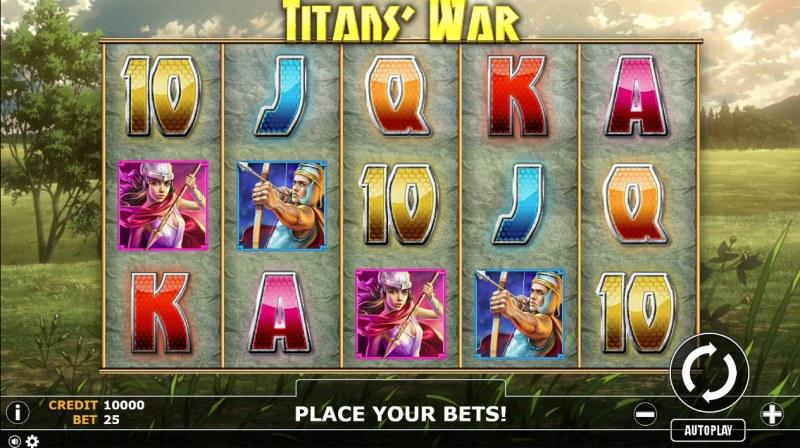Titan's War :: Main Game Board