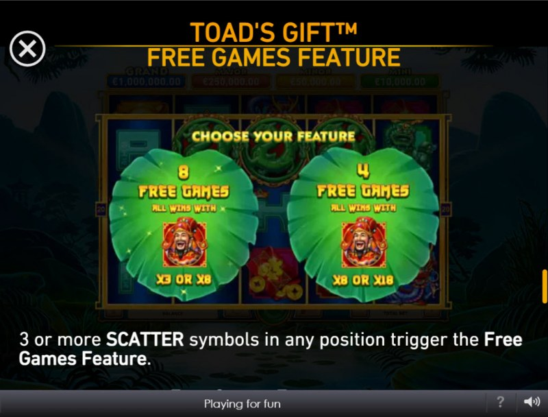 Toad's Gift :: Free Game Rules