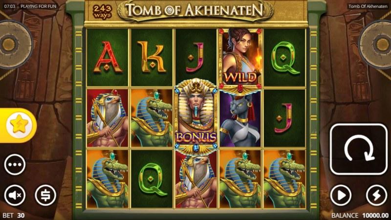 Tomb of Akhenaten :: Main Game Board