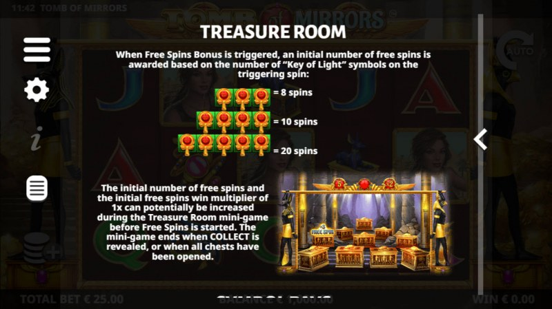 Tomb of Mirrors :: Treasure Room Feature
