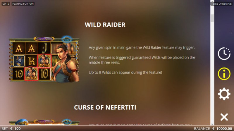 Tomb of Nefertiti :: Wild Raider