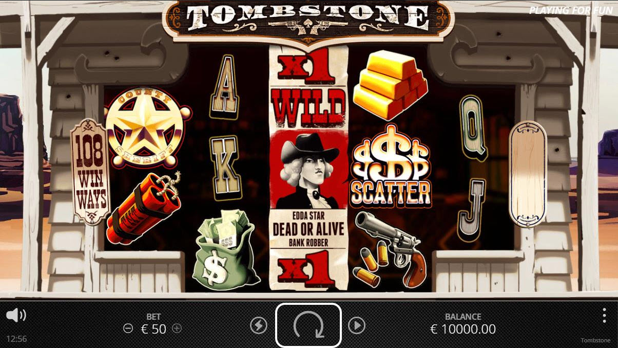 Tombstone :: Main Game Board