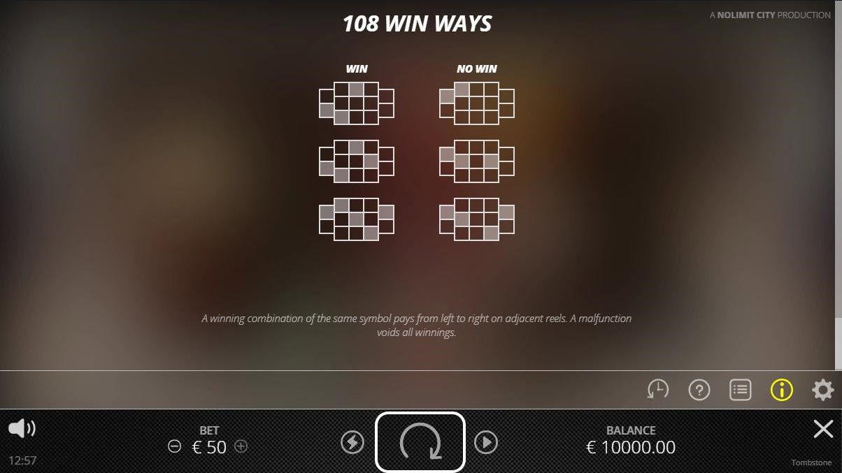 Tombstone :: 108 Ways to Win
