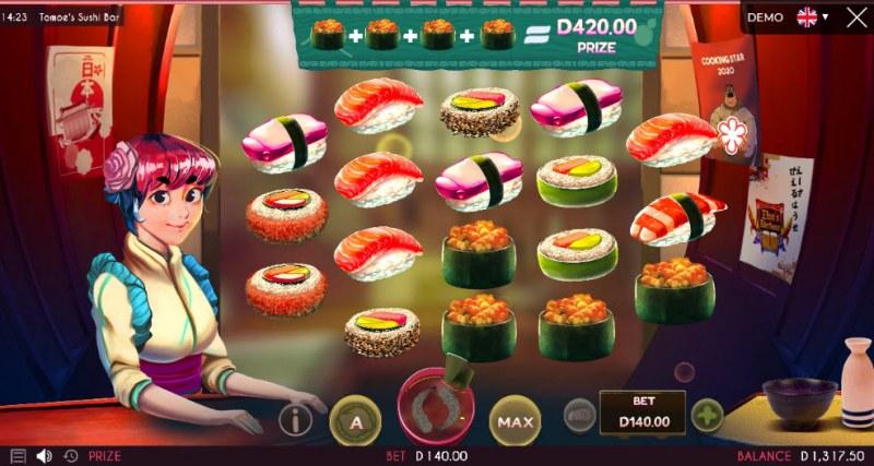 Tomoe's Sushi Bar :: Big Win