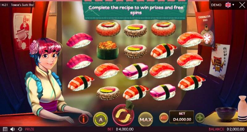 Tomoe's Sushi Bar :: Main Game Board