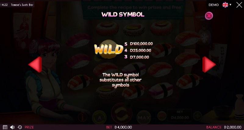 Tomoe's Sushi Bar :: Wild Symbols Rules