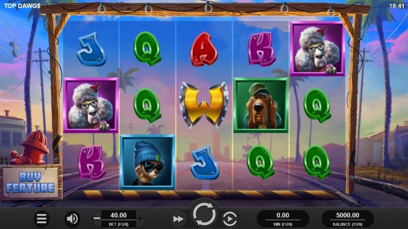 Top Dawgs :: Main Game Board