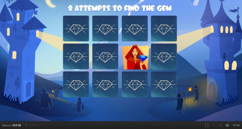 Top King :: Find the gem and win