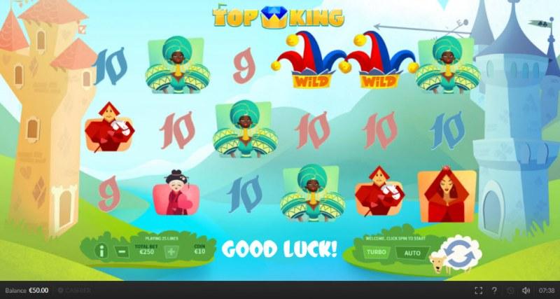 Top King :: Main Game Board