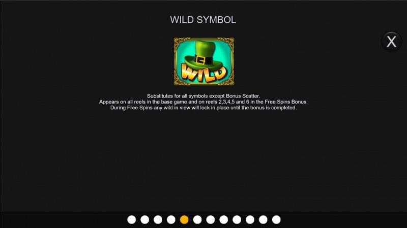 Top O' the Bonus :: Wild Symbol Rules