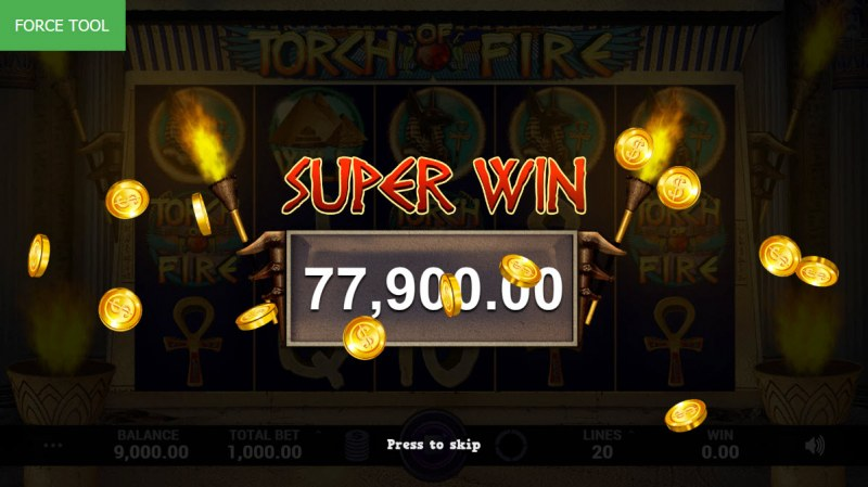 Torch of Fire :: Super Win