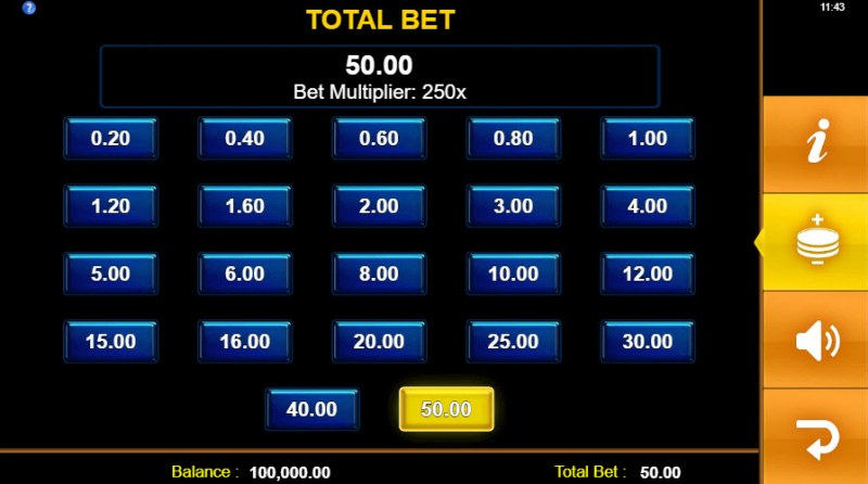 Toro Rockets :: Available Betting Options