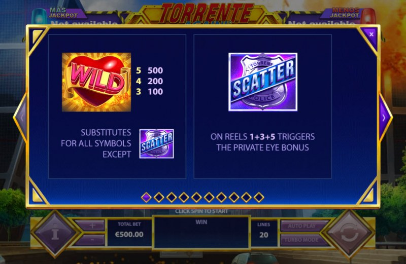 Torrente Again :: Wild and Scatter Rules