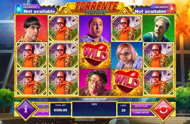 Torrente Again :: Main Game Board
