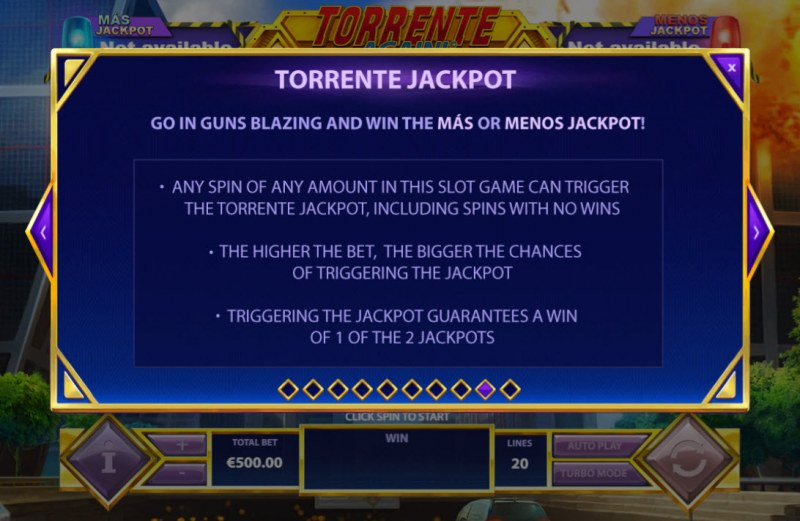 Torrente Again :: Jackpot Rules