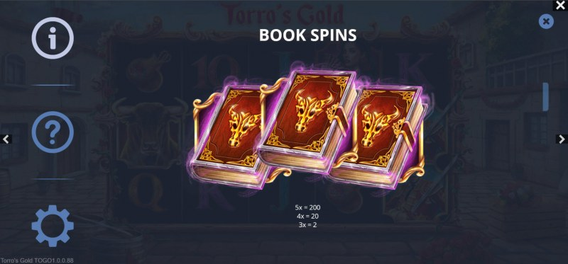 Torro's Gold :: Book Spins