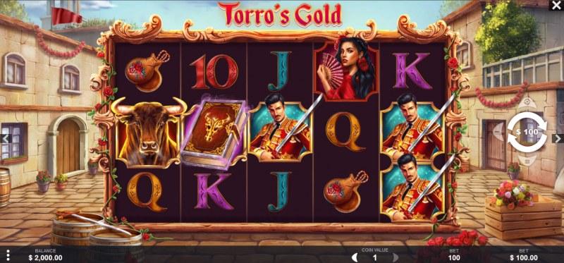 Torro's Gold :: Main Game Board