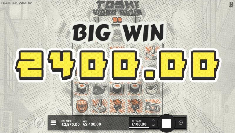 Toshi Video Club :: Big Win