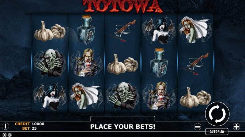 Totowa :: Main Game Board