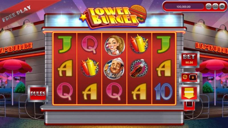 Tower Burger :: Main Game Board