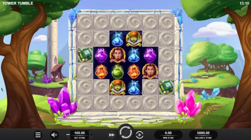 Tower Tumble :: Main Game Board