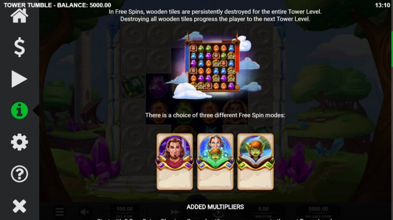 Tower Tumble :: Feature Rules