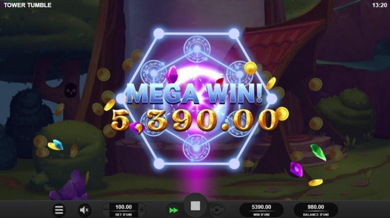 Tower Tumble :: Mega Win