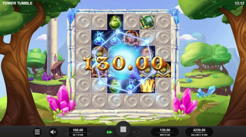 Tower Tumble :: Multiple winning combinations