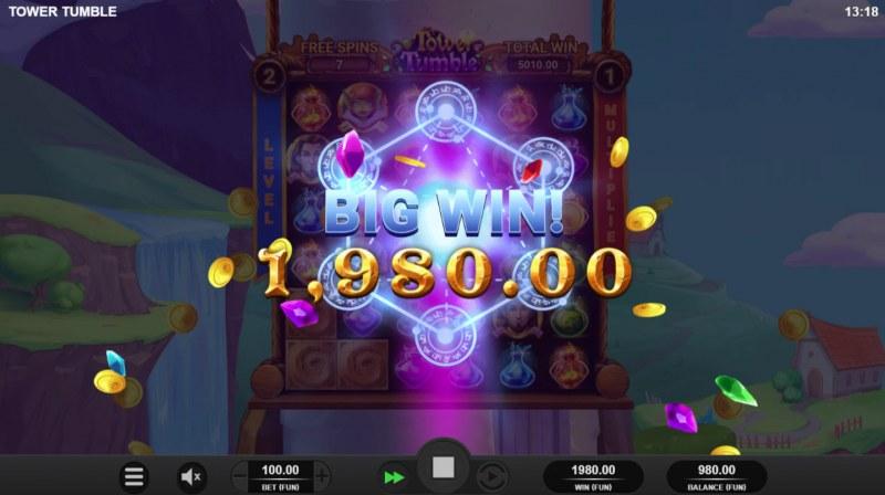 Tower Tumble :: Big Win