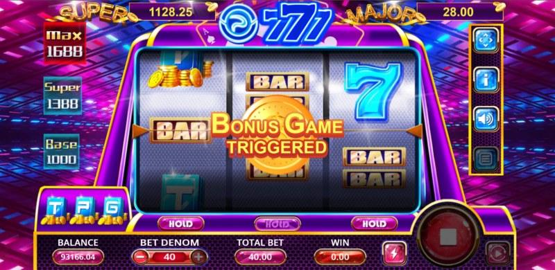 TPG 777 Slot :: Bonus game triggered