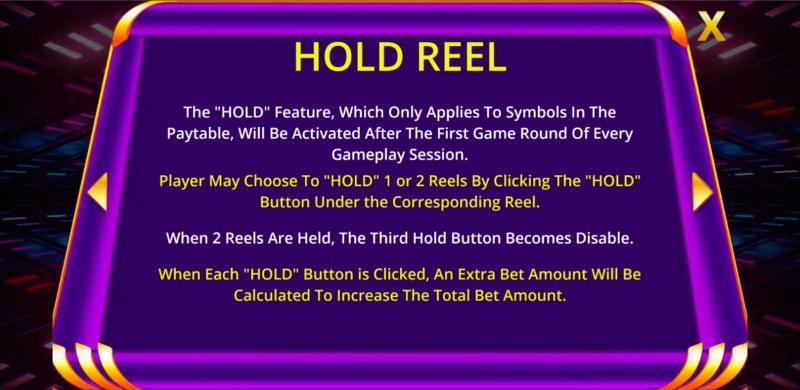 TPG 777 Slot :: Hold Reel