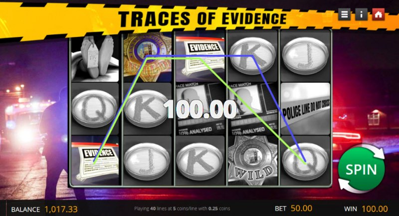 Traces of Evidence :: Three of a kind win