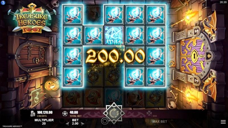 Treasure Heroes :: Cluster Win