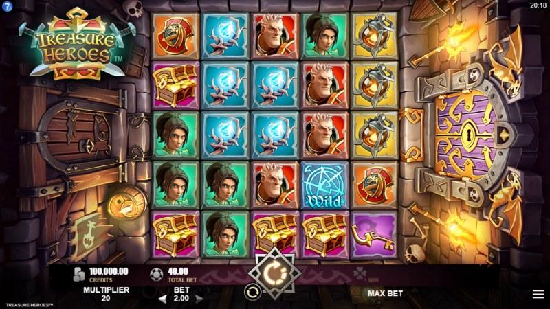 Treasure Heroes :: Main Game Board