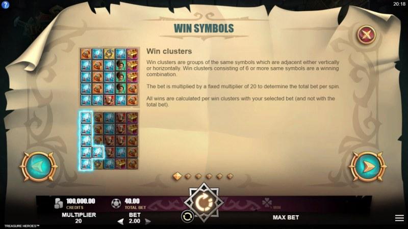 Treasure Heroes :: Clusters