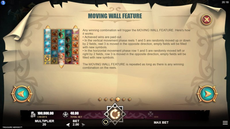 Treasure Heroes :: Moving Wall Feature