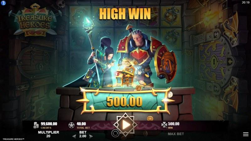 Treasure Heroes :: Big Win