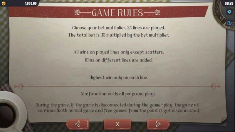 Treasure Hunt Trip :: General Game Rules