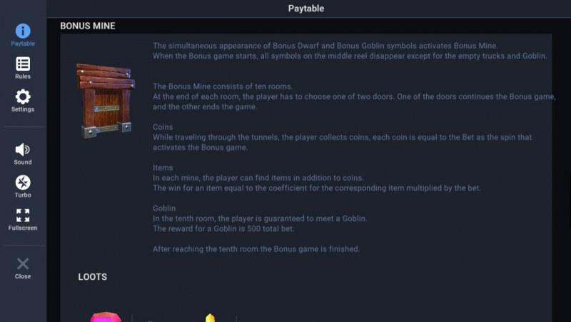Treasure Mania :: Bonus Feature