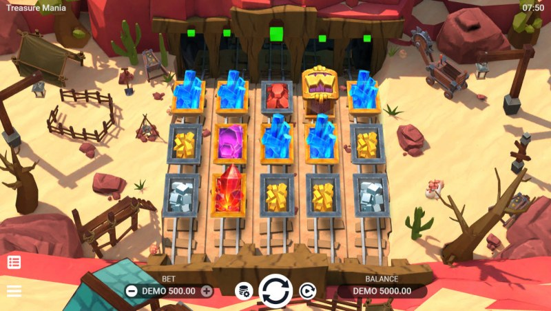 Treasure Mania :: Main Game Board