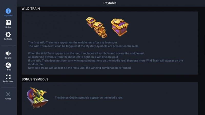 Treasure Mania :: Wild Symbol Rules
